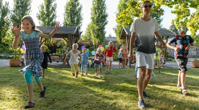 EELINFO: Kasevälja mänguväljak-spordiplatsi avamine, perepäev