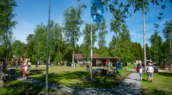 Suurupis avati Kasevälja mänguväljak- spordiplats